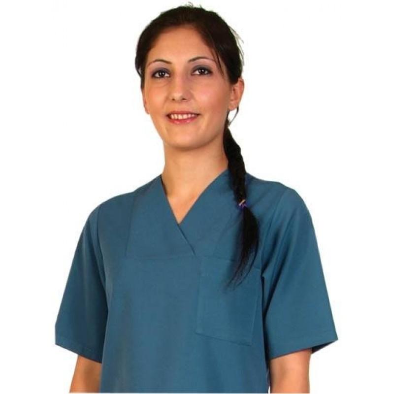 Bayan Havacı Mavi Cerrahi Nöbet Forma Takım