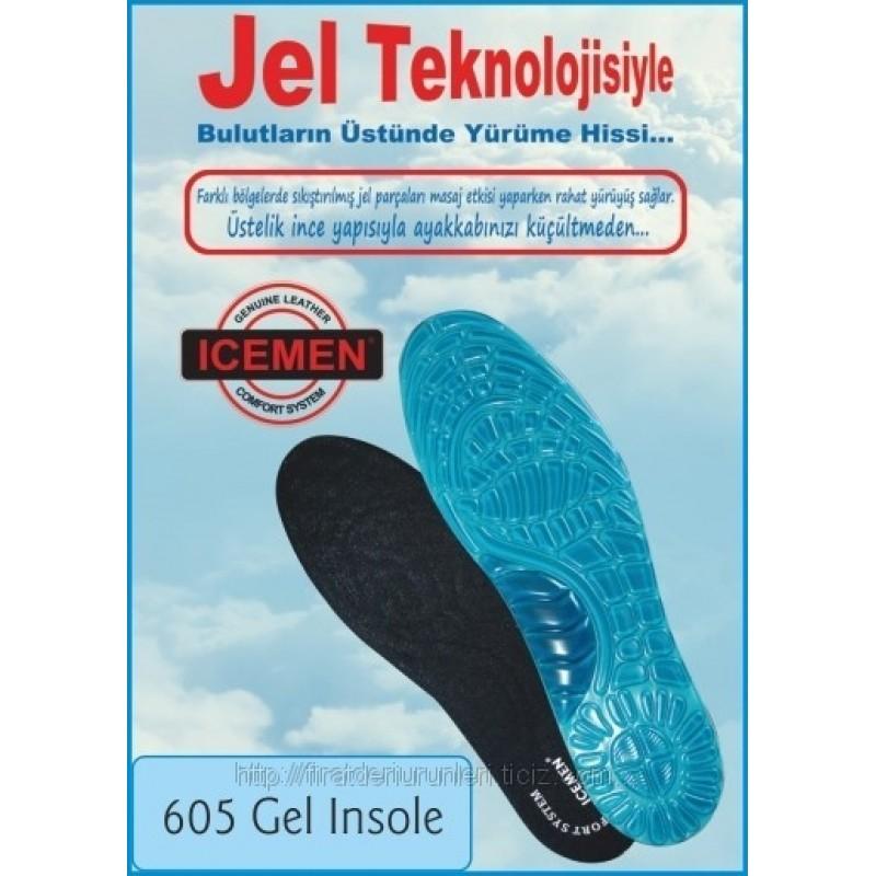 ICEMEN 605 Ortopedik Jel Taban