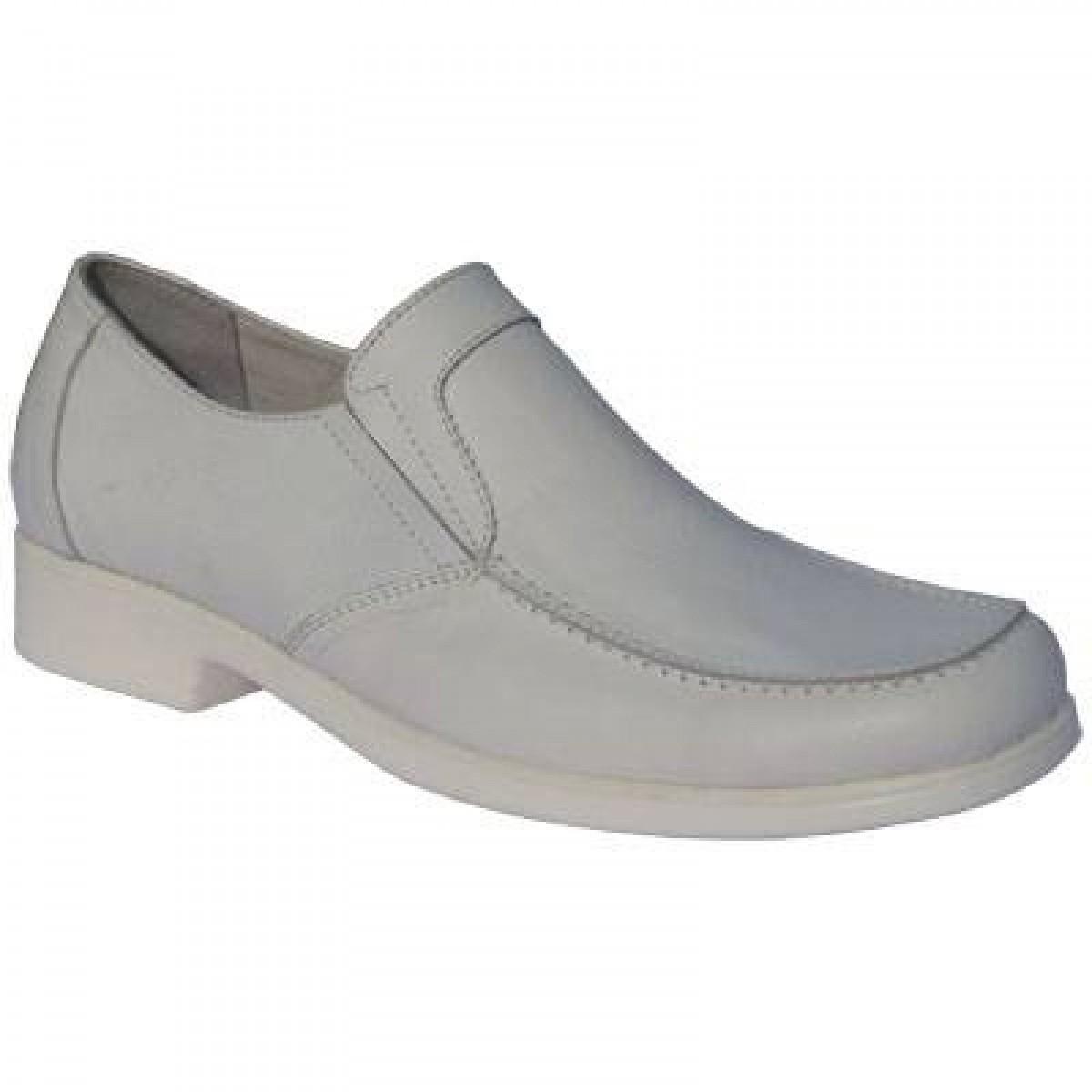 Lastikli Bay Klasik Beyaz Ayakkabı